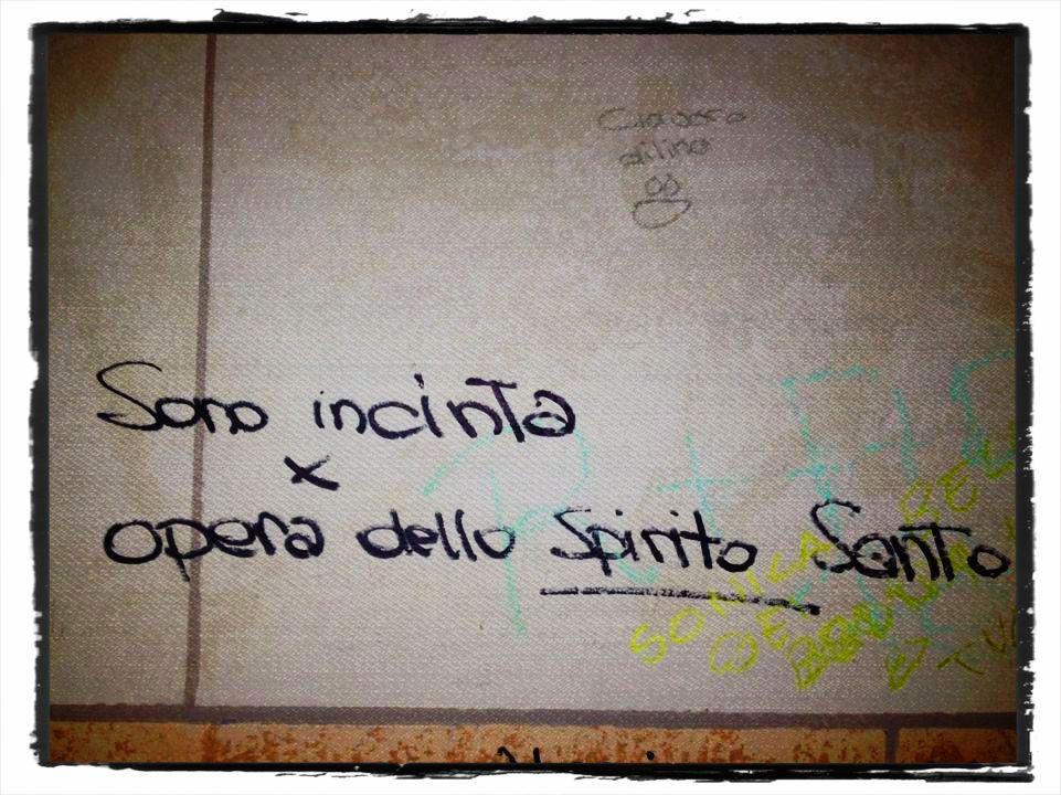 Scritte sui muri quartopianosenzascensore - Scritte muri casa ...