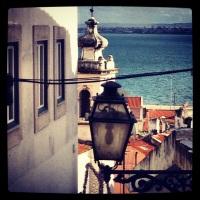 Lisbona, oceano e vento