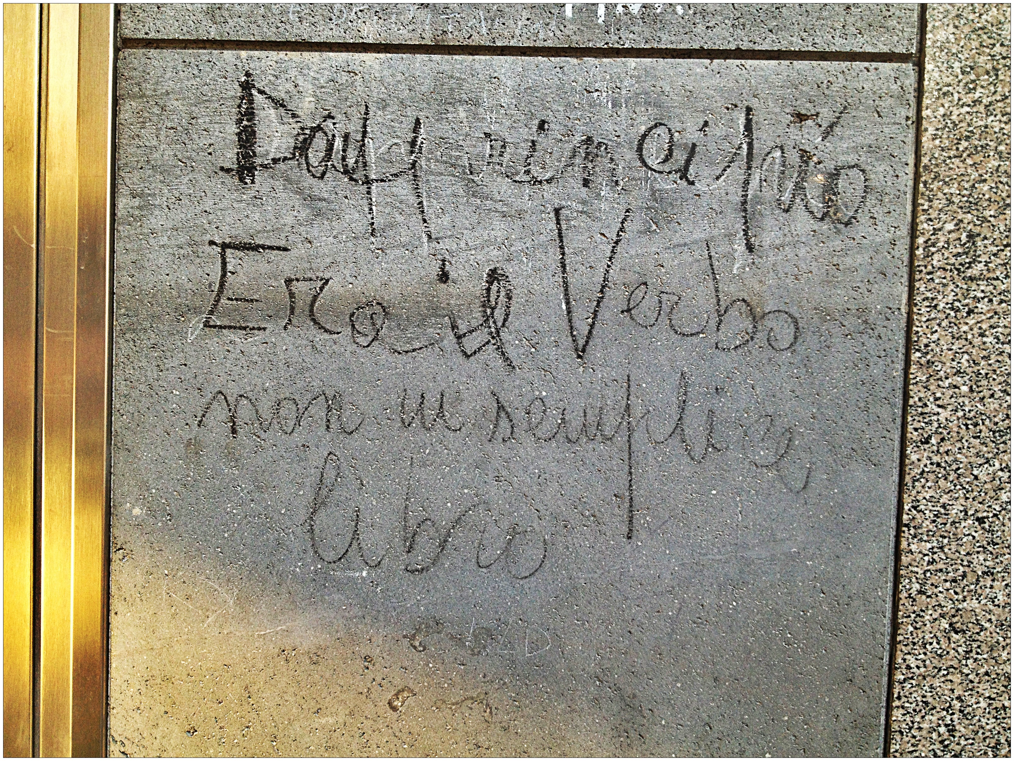 Scritte sui muri 7 quartopianosenzascensore - Scritte muri casa ...
